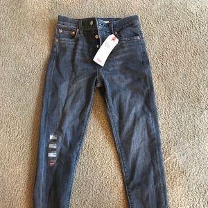 Levi's Women's Wedgie Skinny Jeans NWT